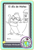 El día de Mateo (Telling Time) Spanish Printable Minibook