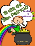 Spanish St Patrick's Day Literacy and Math Activities / El