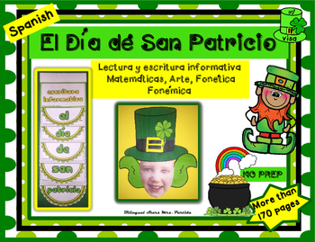 Dia de San Patricio lectura escritura Matematicas Craftivi