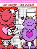 El día de San Valentín/ Día del amor y la amistad