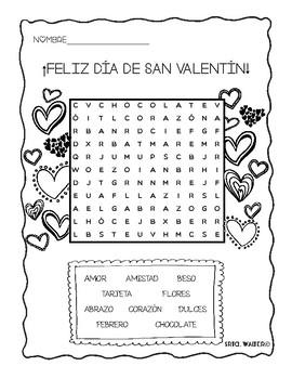 El día de San Valentín - Sopa De Letras {UPDATED}