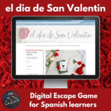 El dìa de San Valentin – digital escape game for Spanish learners