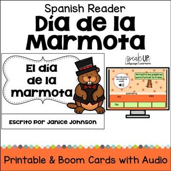 El día de la marmota Spanish Reader {Groundhog's Day} en español