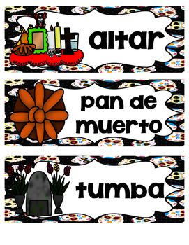 El día de los muertos (Day of the Dead SPANISH)