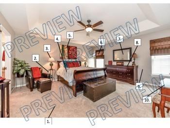 El dormitorio de(l)/la profesor/a - listening/reading activity about a bedroom