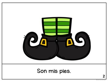 El duende ~ The Leprechaun St. Patrick's Day ~ Readers {Bilingual ~San Patricio}