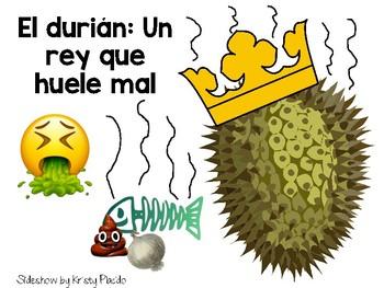 El durián: Un rey que huele mal