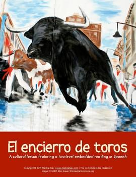 El encierro de toros - The Running of the Bulls readings and lesson plans