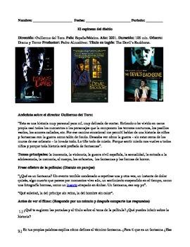 El espinazo del diablo. The devil's backbone. Movie Guide.