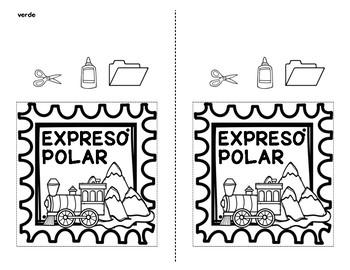 El expreso polar - Un proyecto de Navidad   The Polar Express