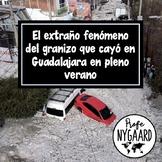 El extraño fenómeno del granizo que cayó en Guadalajara - una lección completa