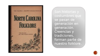 El folklore de Carolina del Norte