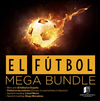 El fútbol BUNDLE - Materials about soccer in Spanish