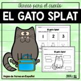 El gato Splat - Spanish Book Companion