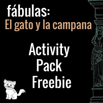 El gato y la campana Free Activity Pack (Belling the Cat in Spanish)