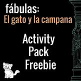 El gato y la campana Free Activity Pack (Belling the Cat i