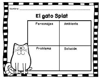 El gato Splat - Actividades en Español