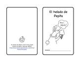 El helado de Pepita Preferences Practice Spanish Printable Minibook