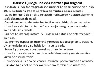 El hijo por Horacio Quiroga (Uruguay)