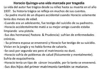 El hijo por Horacio Quiroga (Uruguay) PPT + short quiz