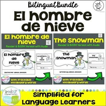 El hombre de nieve ~ The Snowman Readers {Bilingual Version}