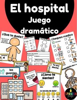 El hospital / Clinica juego dramatico (Spanish Hospital Dramatic Play Doctor)