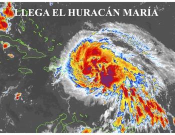 El huracán María: materials for Spanish teachers