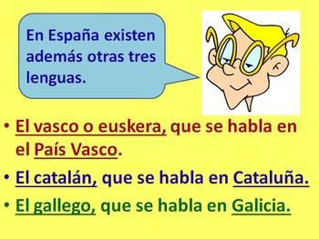 El idioma español