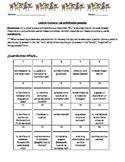 El imperfecto y vocabulario del parque de atracción (Human Bingo)