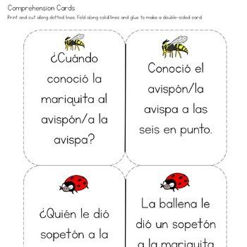 La mariquita malhumorada: Spanish Early Literacy Speech Companion-Back-to-School