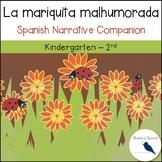 La mariquita malhumorada Spanish Book Companion for Speech Therapy
