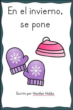El invierno / Bilingual Kindergarten + ESL Resources for Biliteracy