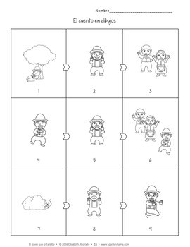 El joven que grita lobo Story and Activity Pack (Boy Who Cried Wolf in Spanish)