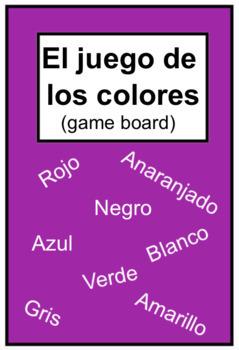 El juego de los colores (Color board game)