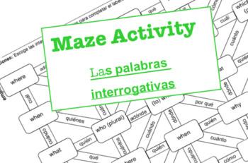 El laberinto - Las Palabras Interrogativas 1 (Interrogatives)