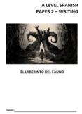 El laberito del fauno: Libro de ensayos -Pan's Labyrinth: Essay writting support