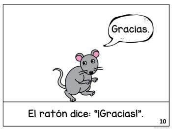El león y el ratón~ Spanish Lion & the Mouse Fable Reader ~Simplified