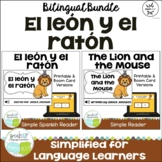 El león y el ratón ~ The Lion and the Mouse Readers {Bilingual}