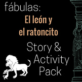 El león y el ratoncito Story and Activity Pack (Lion and t