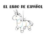 El libro de Espanol- An end of the year Spanish book- review vocabulary