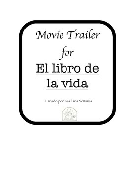 El libro de la vida: Movie Trailer Spanish Listening Comprehension Activity