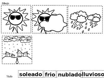 El libro del clima ( weather patterns)