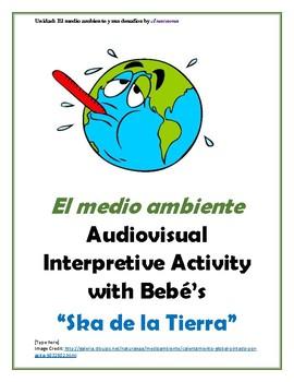 """""""Ska de la Tierra"""" El medio ambiente/Calentamiento Global Interpretive Activity"""