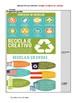 El medio ambiente Infographic Interpretive Asessment El reciclaje responsable