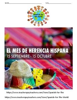 El mes de la herencia hispana- Lectura