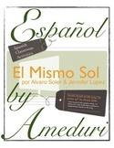 El mismo sol -Spanish song activities