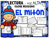 "El mitón - ""Close Reading"" con  lectura en voz alta (The Mitten)"