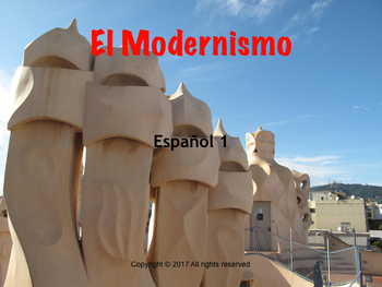 Spanish cultural lesson: El modernismo