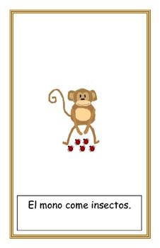 El mono easy reader