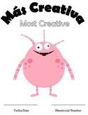 El monstruo proyecto: directions, rubric, & certificates (body part vocab)